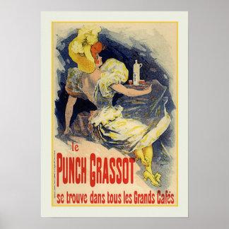 Julio Chéret anuncio 1890 Posters