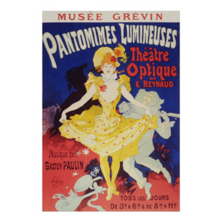 Julio Cheret Pantomimes Lumineuses Impresiones