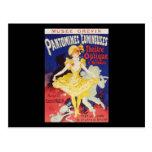 Julio Cheret Pantomimes Lumineuses Postales