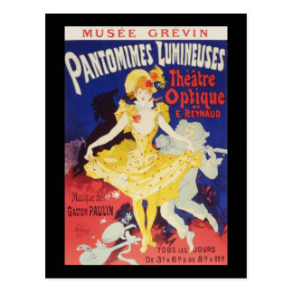 Julio Cheret Pantomimes Lumineuses Postal