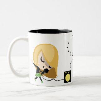 Julio el cantante tazas de café