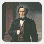 Julio Favre 1865 Calcomanía Cuadradas Personalizadas