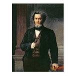Julio Favre 1865 Tarjeta Postal