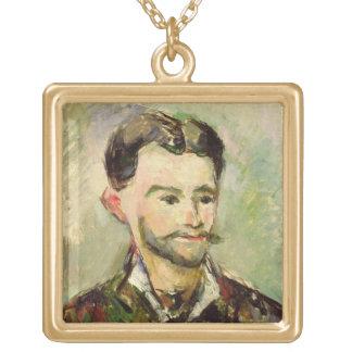 Julio Peyron, c.1885 (aceite en lona) Colgante Cuadrado
