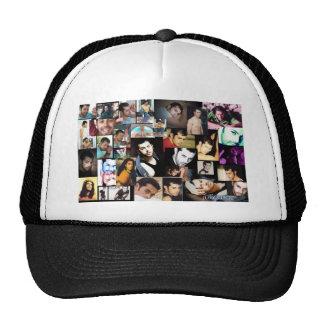 Julio photo colage trucker hat