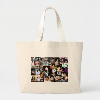 Julio photo colage large tote bag