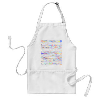 Julio Text Design II Standard Apron
