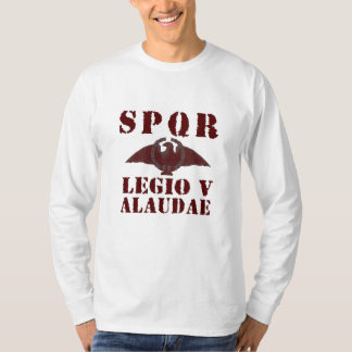 Julius Caesar 5th Alaudae Roman Legion Eagle Shirt
