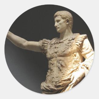 Julius Caesar Classic Round Sticker