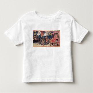Julius Caesar  landing in England Toddler T-shirt
