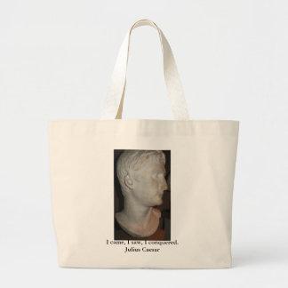 Julius Caesar QUOTATION famous quote Jumbo Tote Bag