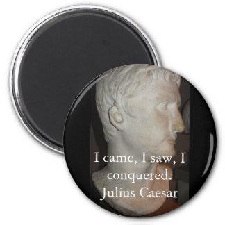 Julius Caesar QUOTATION famous quote Refrigerator Magnets