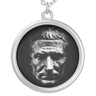 Julius Caesar Silver Plated Necklace