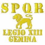 Julius Caesar's 13th Gemini Legion - Rome Embroidered Hoody