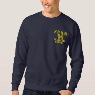 Julius Caesar's 13th Gemini Legion - Rome Embroidered Sweatshirt