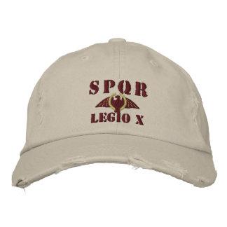 Julius Caesar's Famed 10th Legion - Rome Hat Embroidered Baseball Cap