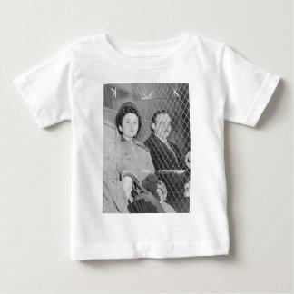 Julius & Ethel Rosenberg After Being Found Guilty Baby T-Shirt