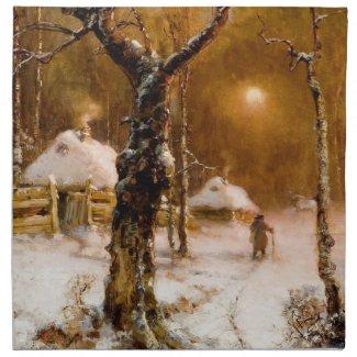 Julius Klever: Winter Night Walk
