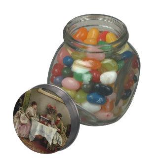 Julius LeBlanc Stewart- An Interesting Letter Jelly Belly Candy Jar