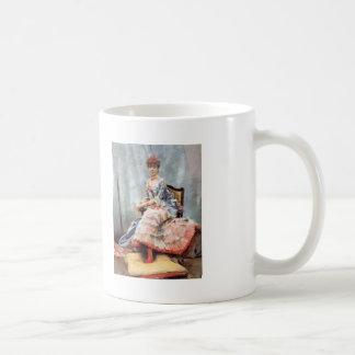 Julius LeBlanc Stewart- Portrait Of Laure Hayman Classic White Coffee Mug