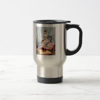 Julius LeBlanc Stewart- Portrait Of Laure Hayman 15 Oz Stainless Steel Travel Mug