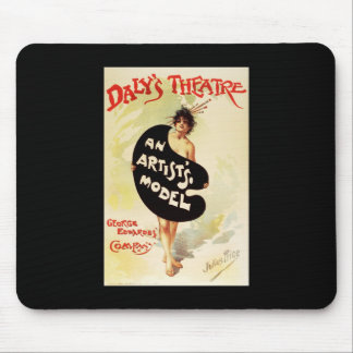 Julius Price Daly's Theatre An Artist's Model Mouse Pad