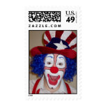 Julius the Fourth Clown Postage Stamps