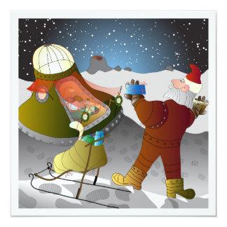 Julkort måntema card