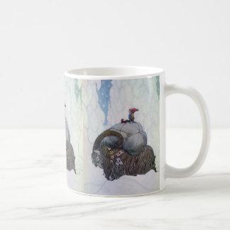 Jullbocken The Yule Goat Being Ridden By A Child Coffee Mug