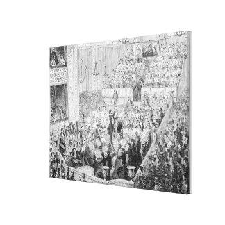 Jullien's Concert Orchestra Canvas Print