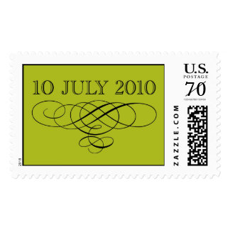 July 10, 2010 Wedding Stamp