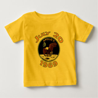 July 20, 1969 Apollo 11 Mission to the Moon Baby T-Shirt