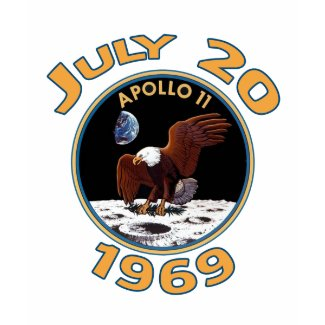 July 20, 1969 Apollo 11 Mission to the Moon shirt