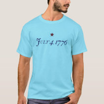 July 4, 1776 - For Light T-Shirt