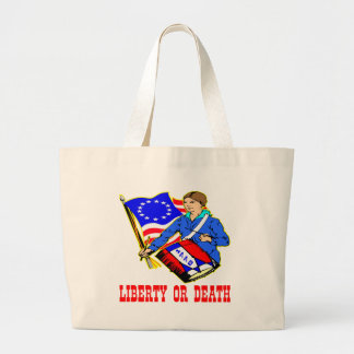July 4, 1776 Liberty Or Death Independence Day Bags