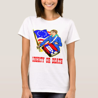 July 4, 1776 Liberty Or Death Independence Day T-Shirt