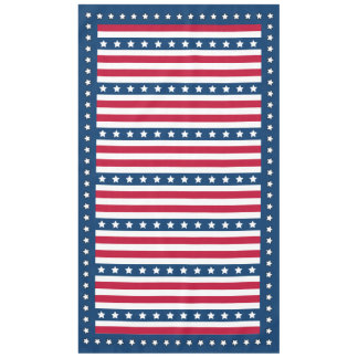 July 4 All American Picnic Tablecloth