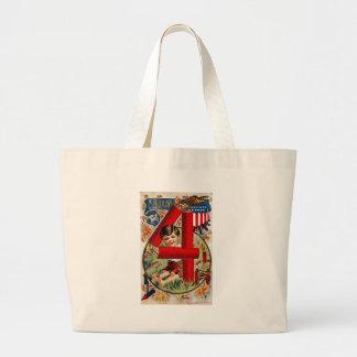 July 4 canvas bag