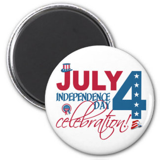 JULY 4 Celebration magnet