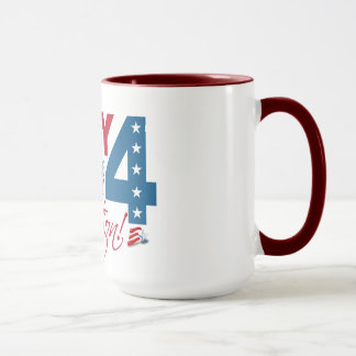 JULY 4 Celebration mug– choose style & color Mug