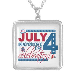 JULY 4 Celebration necklace