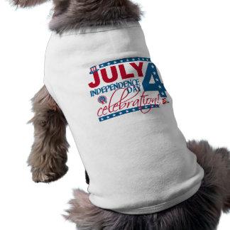 JULY 4 Celebration pet clothing