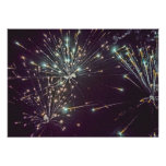 July 4 Fireworks 12 Print