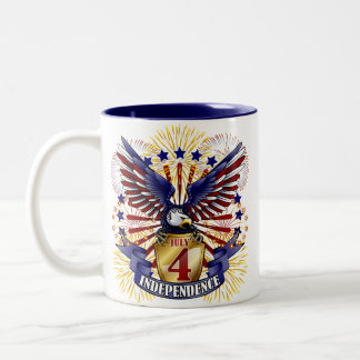 July 4 Independence Coffee Mug