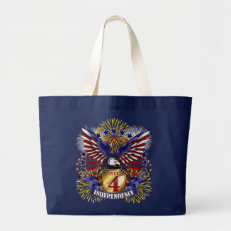 July 4 Independence Tote Bag