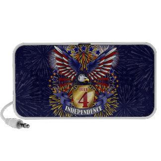 July 4 Independence USB Speaker