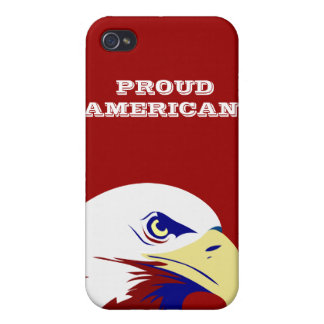 July 4 Proud American Eagle Covers For iPhone 4