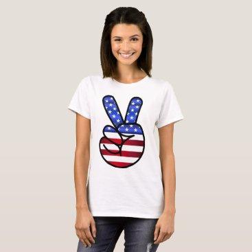 USA Themed July 4 T-Shirt