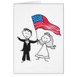 July 4 Wedding Gifts Greeting Card