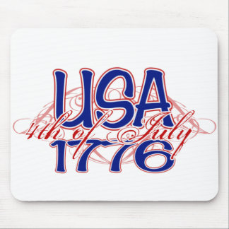 July 4th 1776 mouse pad
